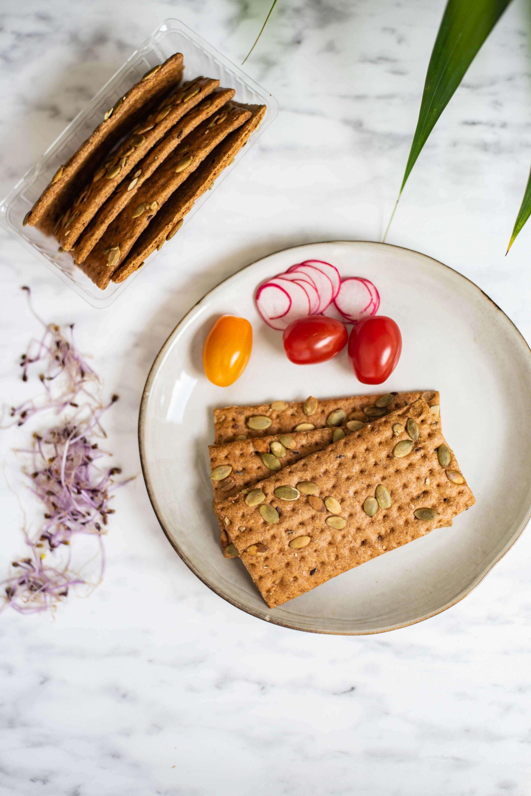 Crackers Pompoen