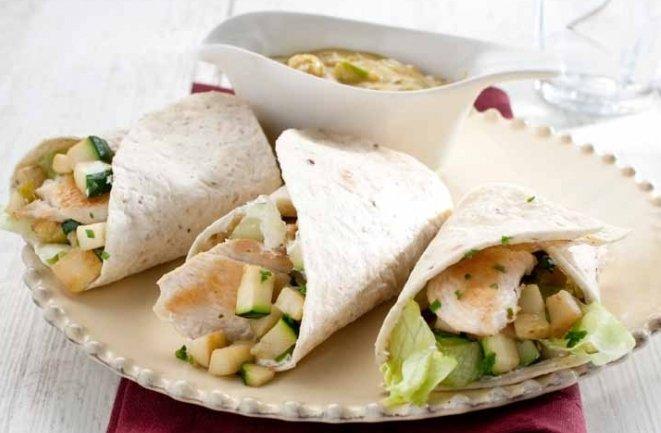 Curry-kip wrap