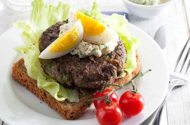 Steak tartaar burgers