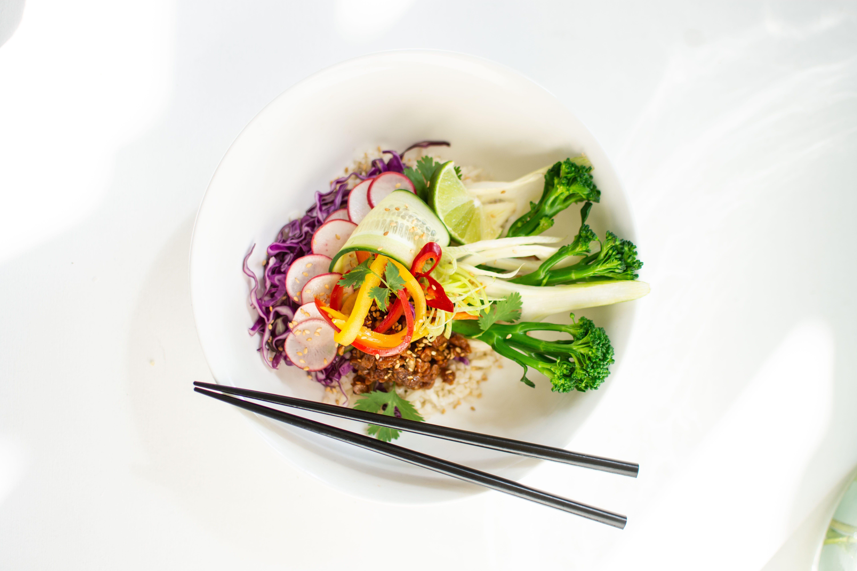 Poke Bowl met groenten