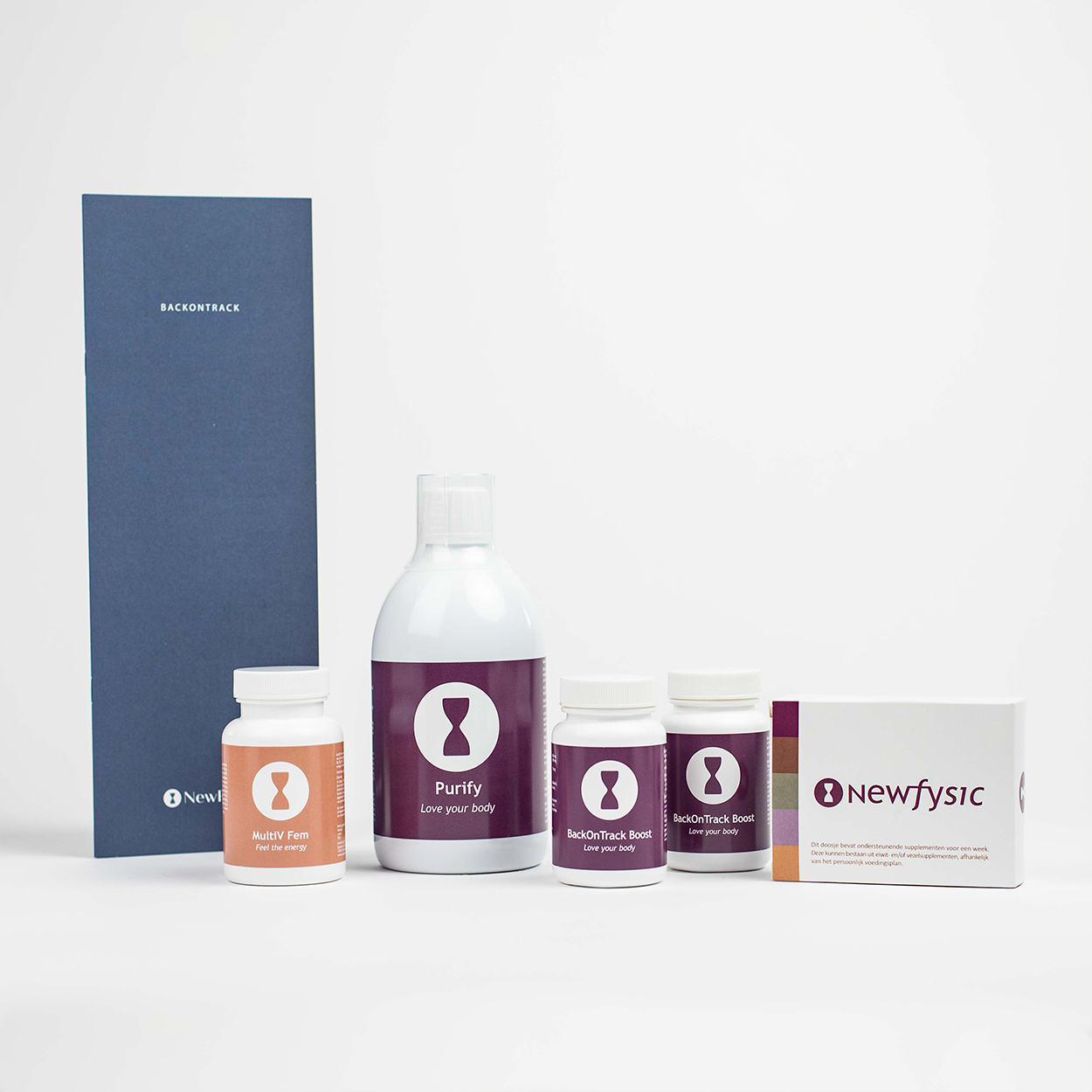 BackonTrack boost maandpakket (2x boost supplement)