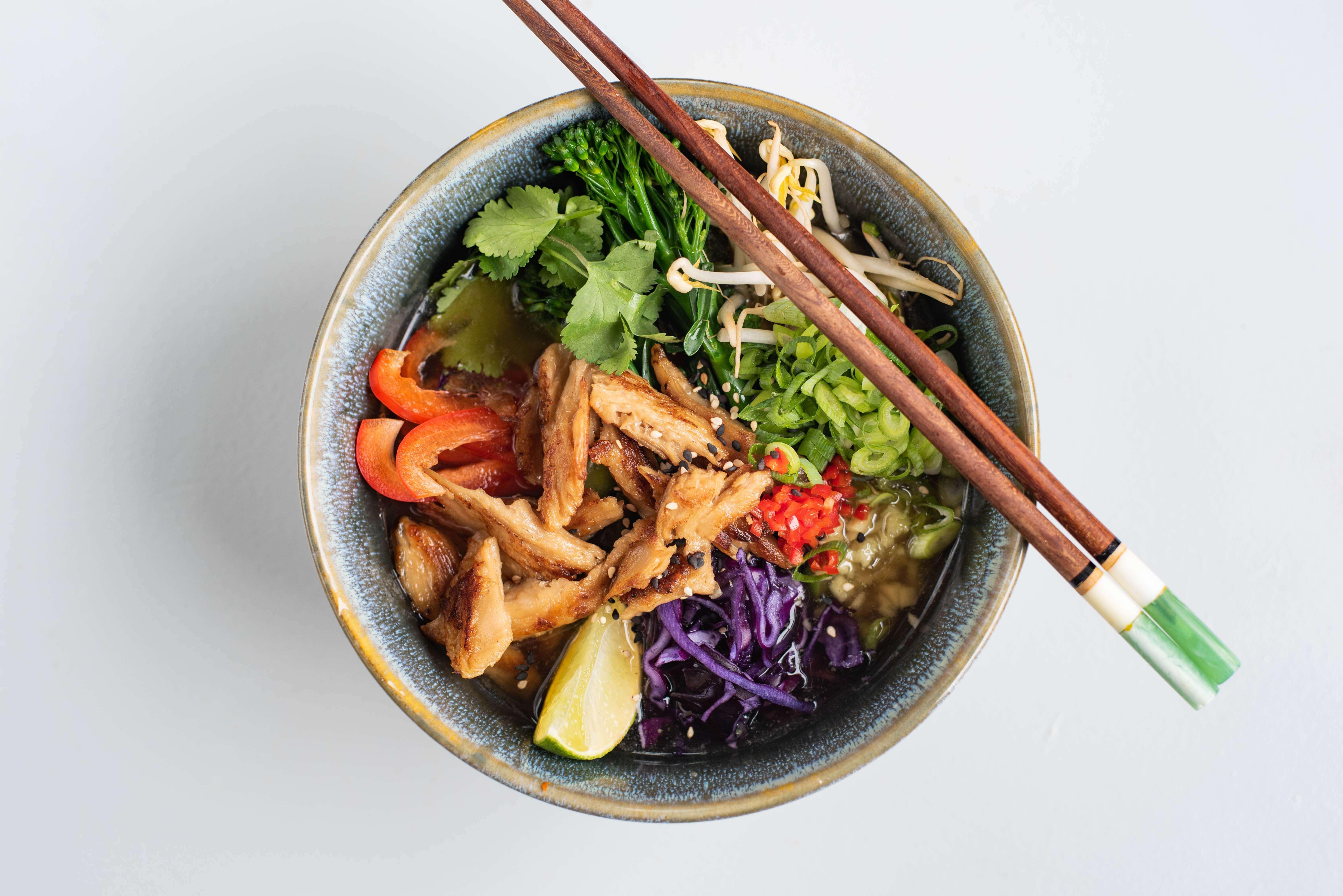 Veganistische Vietnamese Pho
