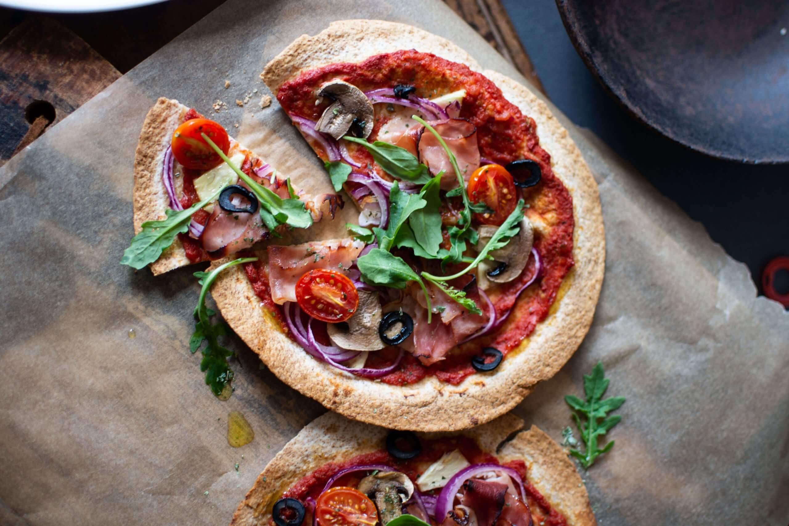 Dé NewFysic pizza