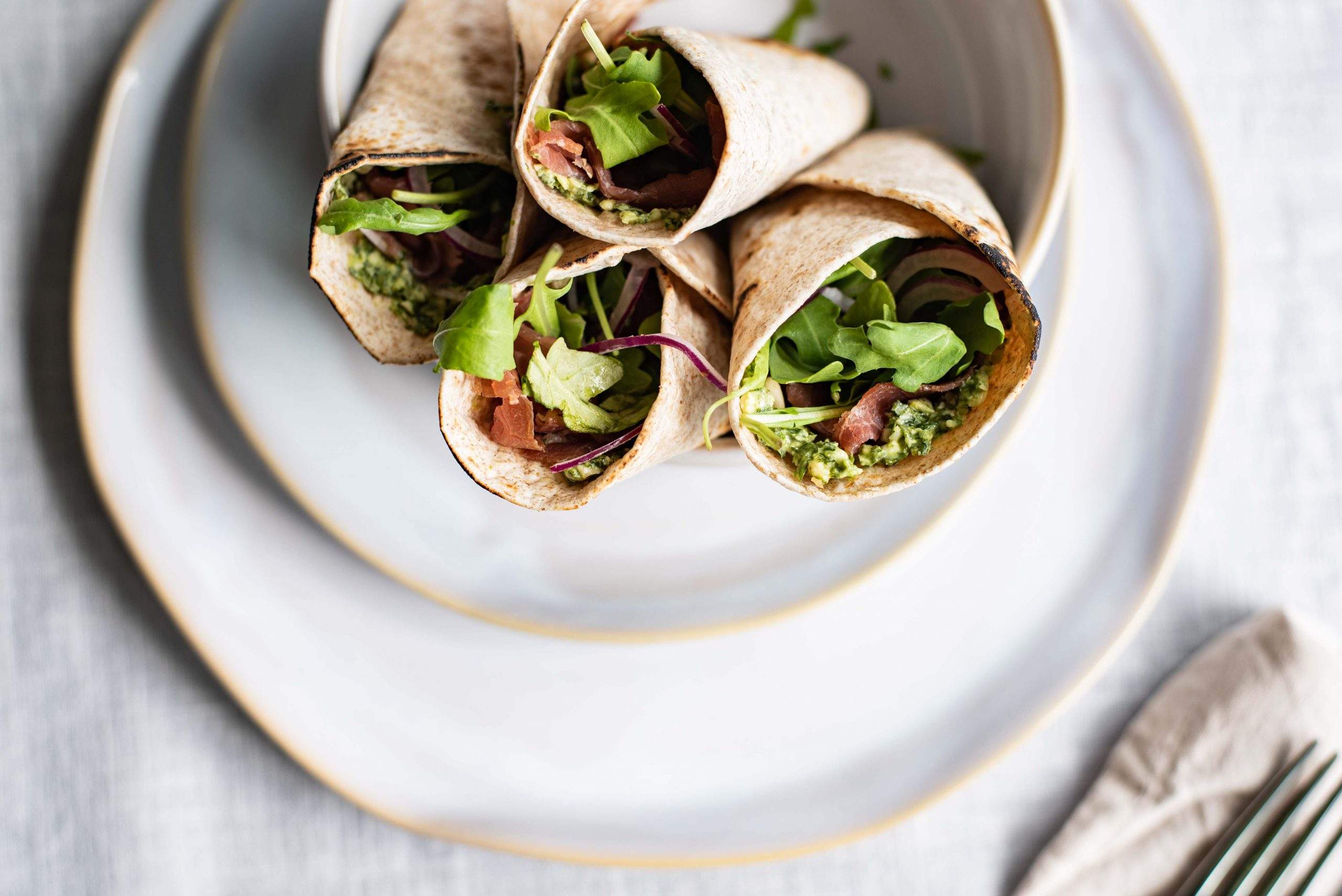Carpaccio-lunchwrap