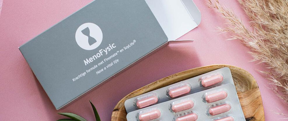 Menofysic supplement voor tijdens de overgang