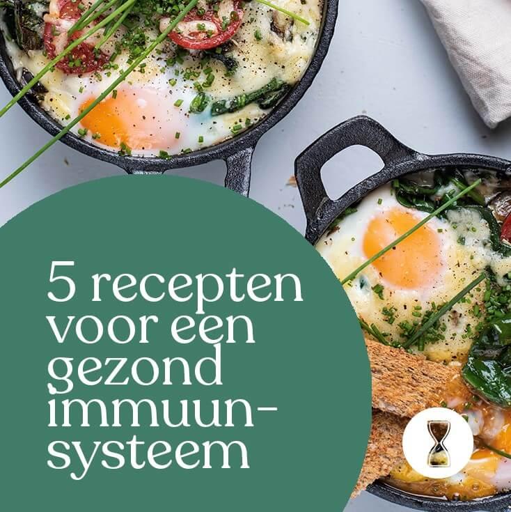 5 NewFysic recepten die bijdragen aan een goed immuunsysteem